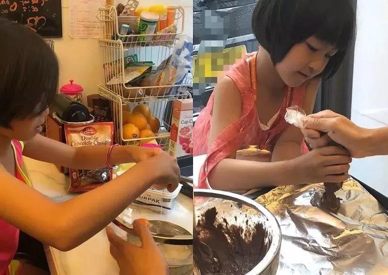 蔡少芬六岁的女儿厨艺惊人:想要什么样的孩子,请先做什么样的父母